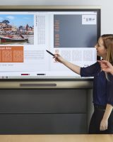SMART Board 8055i interactive lat panel