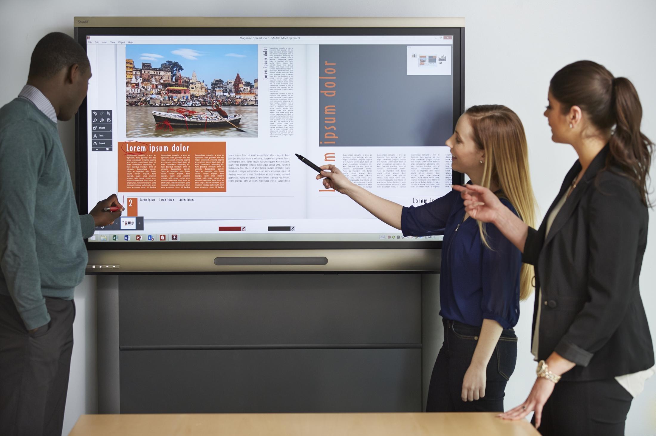 Smart Board 8055i Liosdoire Computers